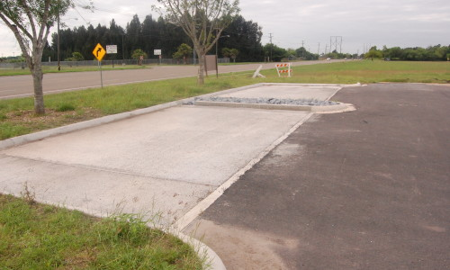 COB permeable pavement