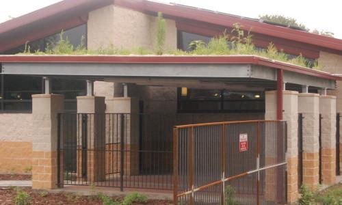 VNC green roof