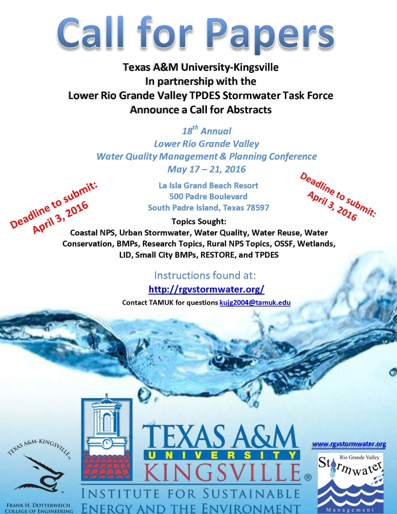 SPI conference Call for papers flyer 2