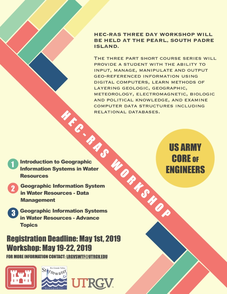 Water Quality Management and Planning Conference~2019 - Lower RGV